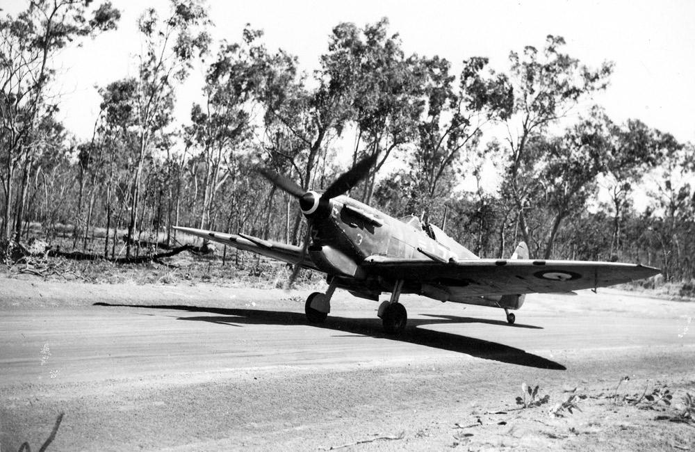 Spitfire MkVcTrop of Squadron Leader K. E. James 457 squadron RAAF