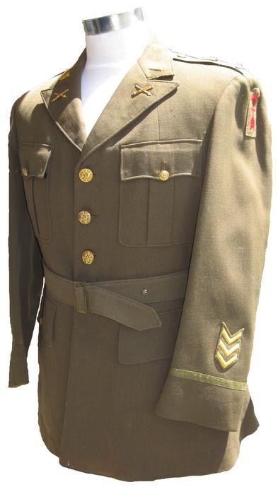 artillery uniform example