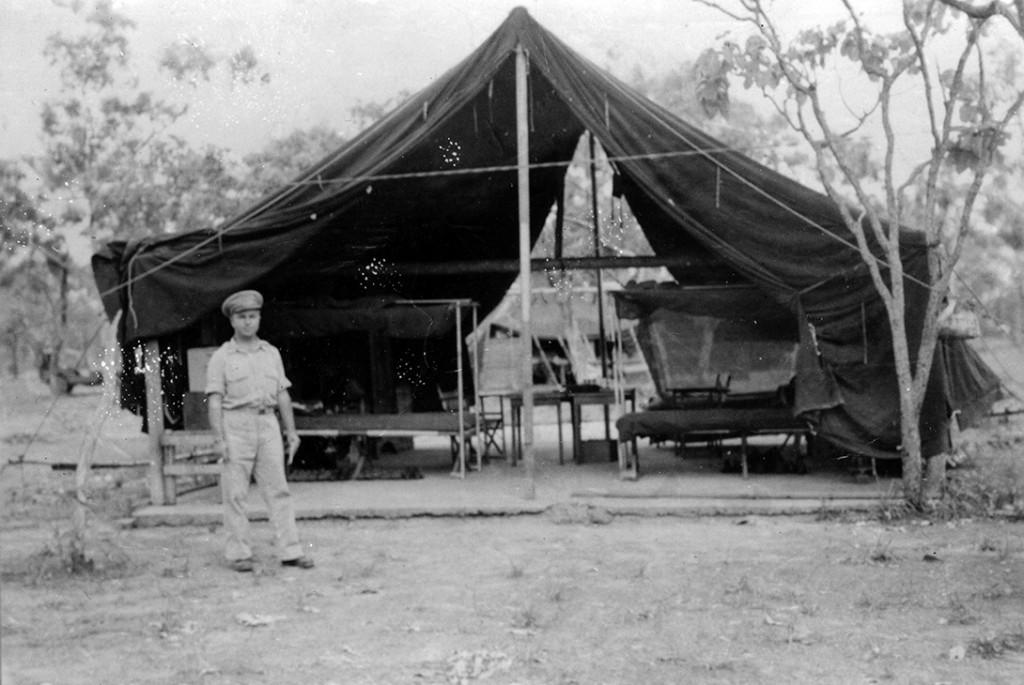 tent concrete